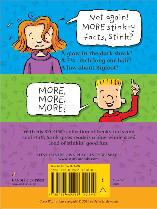 Stink-O-Pedia Volume 2 : Back Cover